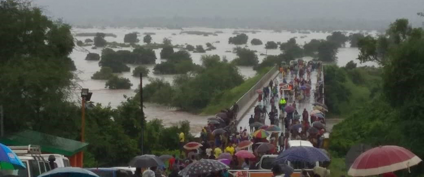 Devastating flooding in the aftermath of Cyclone Idai