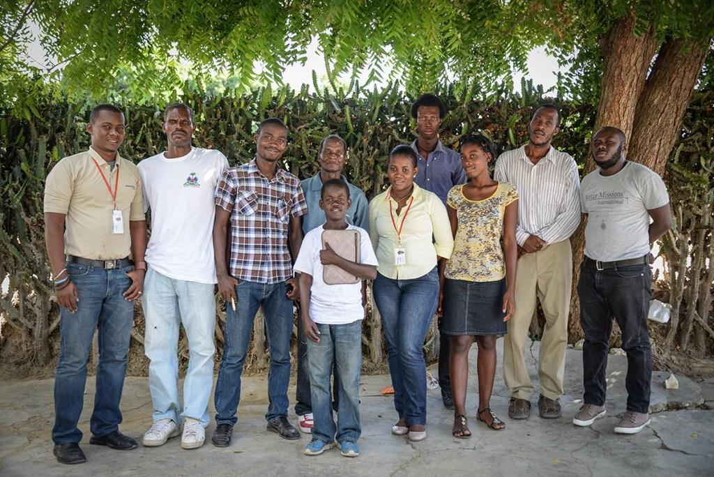 Safe water committee in Duclas, Haiti