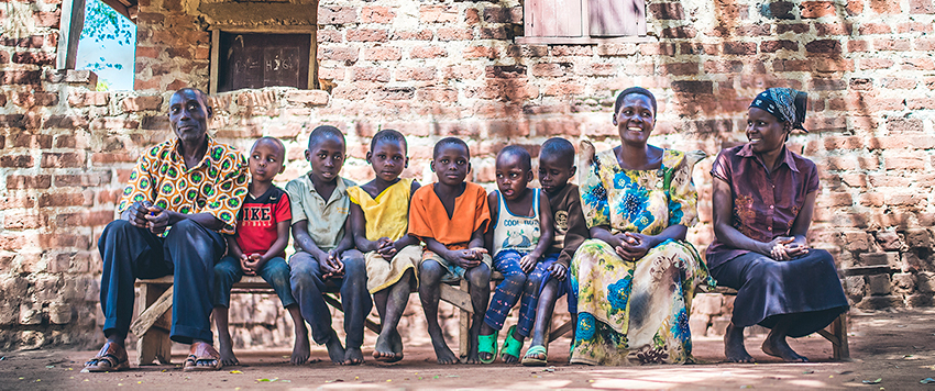 Alice Kabula and her family