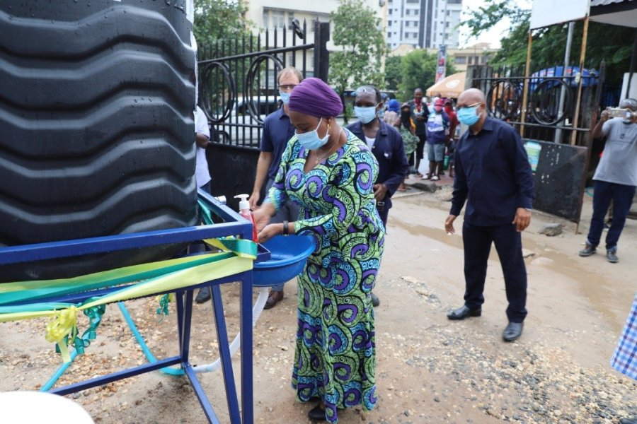 Tanzania Handwashing Water Mission