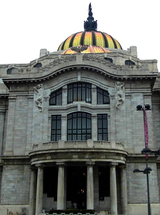 Entrance Palacio Bellas Artes