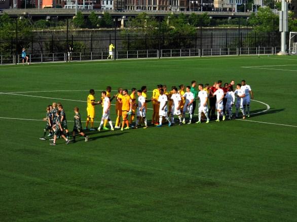Riverhounds v FC Montreal
