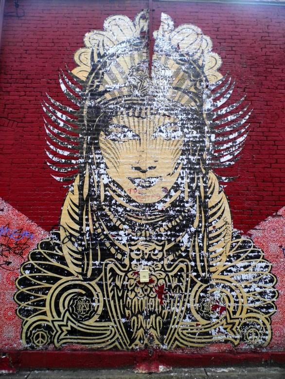 Woman Mural