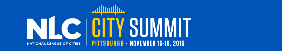 WaterNow Travels to Pittsburgh for NLC City Summit 2016