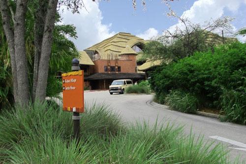 Animal Kingdom Lodge Jambo House Entrance