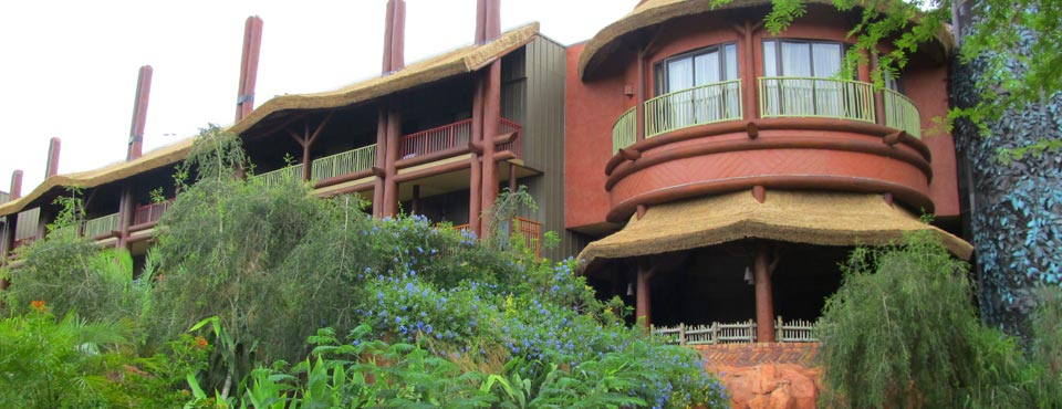 View of the back side of the Kidani Village at Disney Animal Kingdom 960
