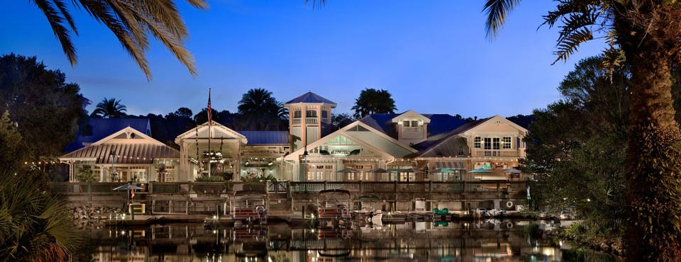 View of the Buildings from the Lake at the Disney Old Key West 960