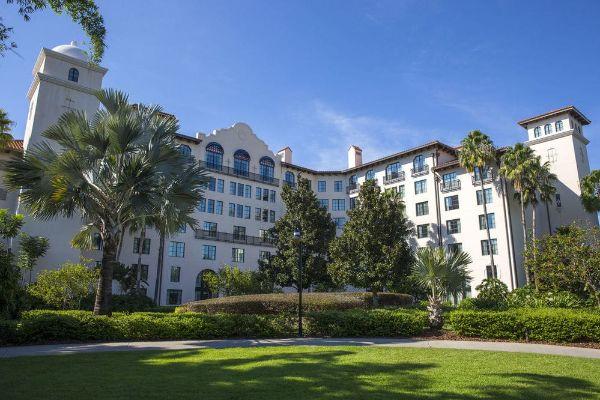 View of the Orlando Hard Rock Hotel at Universal Orlando 600