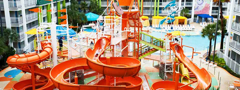 Nickelodeon Suites Resort with Water Slides in Orlando