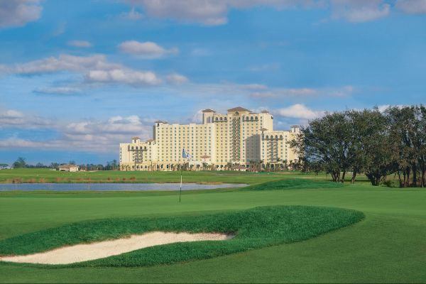 View of the Omni Orlando at ChampionsGate from the Golf Course 600