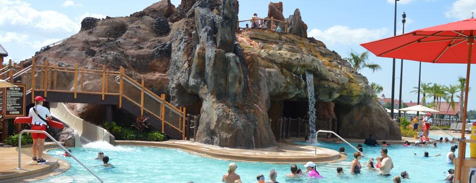 Disney Polynesian Resort Pool - Water Slide - Water Park ...