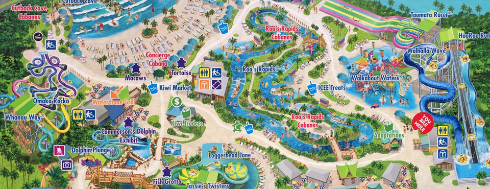 Aquatica SeaWorld Orlando Map and PDF on knotts berry farm map, universal map, san antonio riverwalk map, disneyland map, aquatica map, michigan adventure map, busch gardens map, disney's animal kingdom map, islands of adventure map, zoo map, cedar point map, san diego map, discovery cove map, disney blizzard beach map,