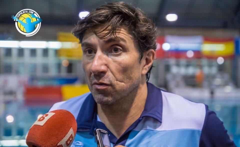 Javi Aznar hizo balance de la primera ronda de Euro League / JOSEP ARNAU (ATELIER PHOTO)