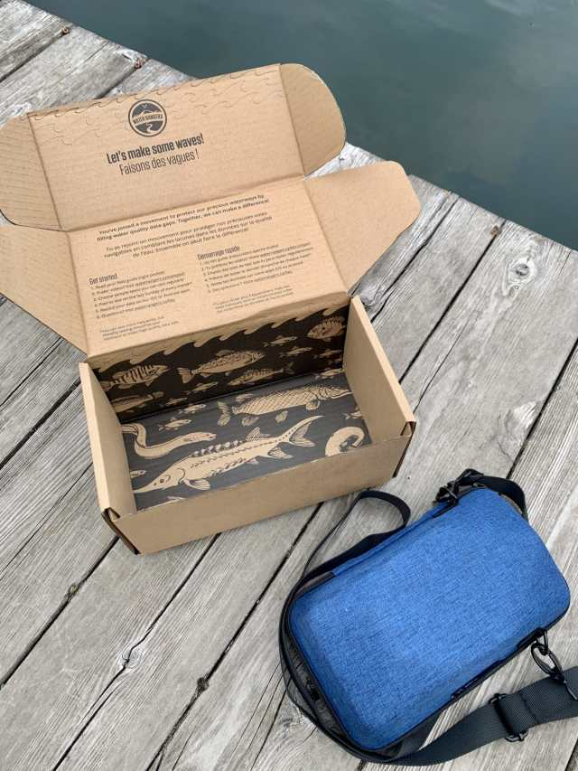 Our compact kit and custom box, part of our plan to become more resilient.