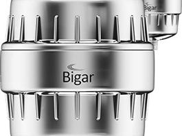 BIGAR (2PACK) SilverPure 12x Nano & Vitamin C | Water Softener Shower Head Filter for Hard Water – Beautify & Cleanse – 12 Stage Filters Also Remove Chlorine & More for Radiant Skin, Hair & Nails