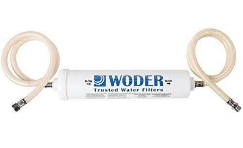 Woder 10K-DC Ultra High Capacity Under Sink Direct Connect Water Filtration System — Under Sink, Premium Class 1. Removes 99.99% of Contaminants for Safe, Fresh and Crisp Water, USA-Made