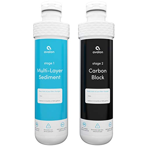 Avalon 2 Stage Replacement Filters For Avalon Branded Bottleless Water Coolers