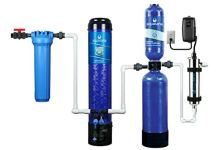 Aquasana OptimH2O Whole House Water Filtration System - Included Salt-Free Descaler & UV Filter - Removes 99% Lead, Chlorine & Chloramines - 100,000 Gal.