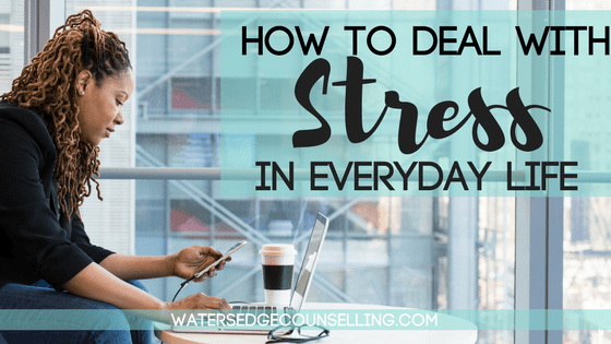 How to deal with stress in everyday life header