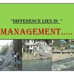 Monitoring and Evaluation – Role in Watershed Management…………