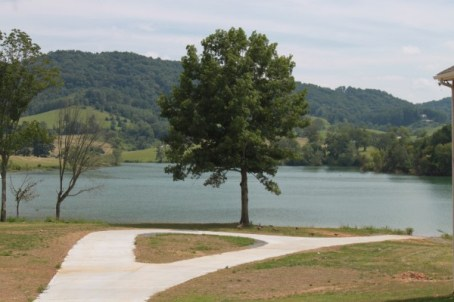 Private boat launch ramp at Waterside Cove on Norris Lake