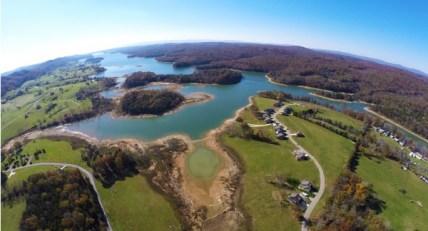 Waterside Cove in October