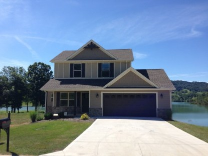 Model Home at Waterside Cove on Norris Lake