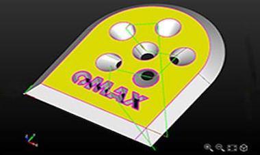 Watersnijmachine software, 3D