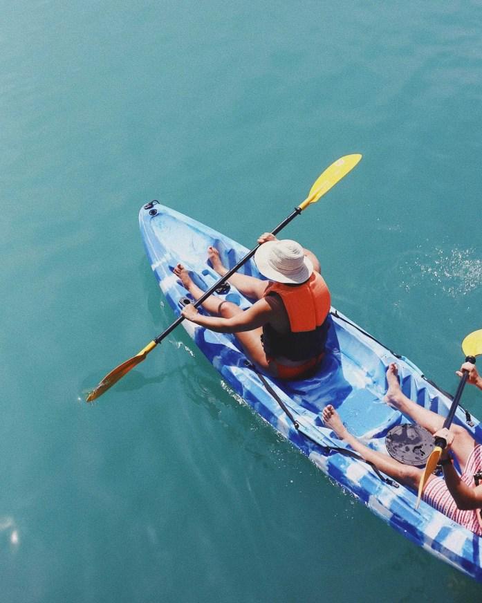 kayaking while pregnant third trimester