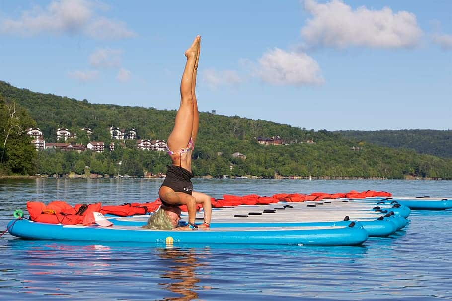best stand up paddle boards for yoga