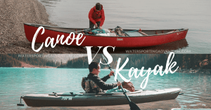 canoe vs kayak
