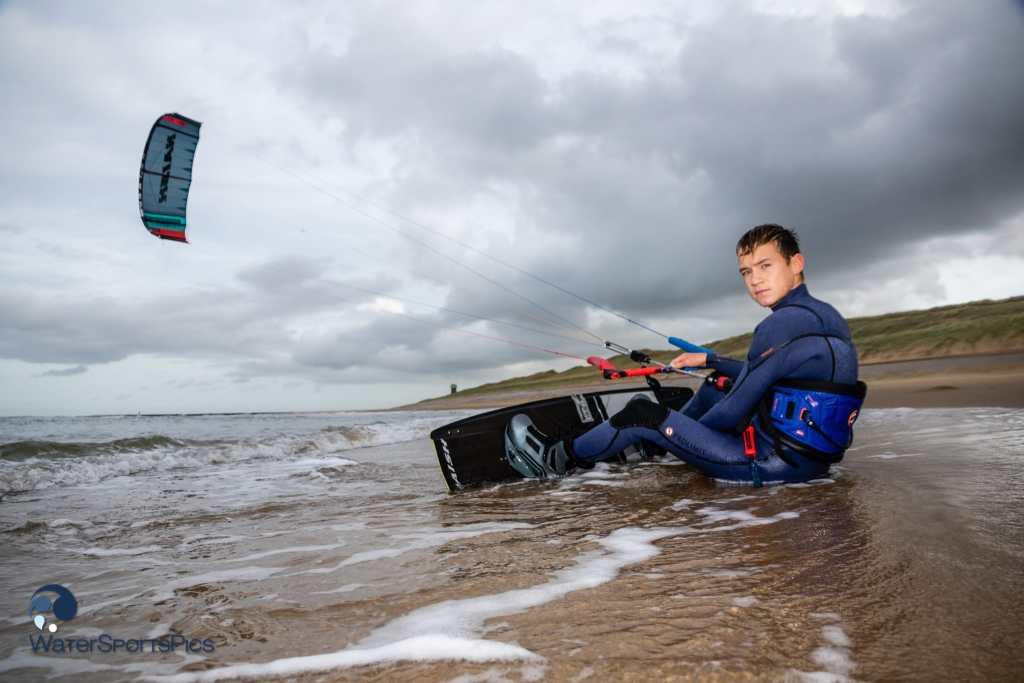 Jinne Boer on his new Naish Kiteboarding gear