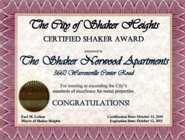 Certified Shaker 2011
