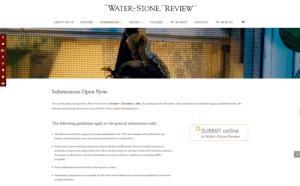Submit to Water~Stone Review