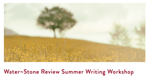 WSR summer writing workshop