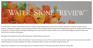 Give to Water~Stone Review