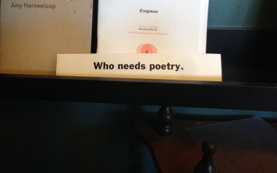 Poetry Matters, By Jason Ryou