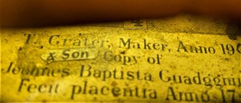 Grater label 2