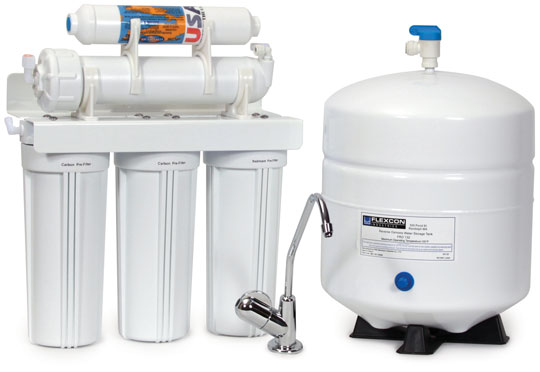 Reverse Osmosis Water Filter System Image
