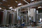 Stainless steel silos await their fate brewing Stone beers