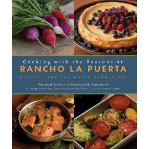 Cooking With the Seasons, one of the wonderful cookbooks from Rancho La Puerta
