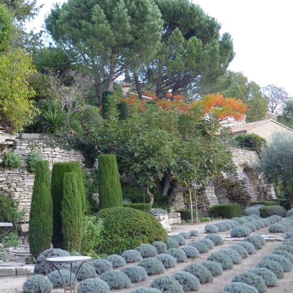 garden tour in France