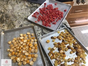 tomatoes on cookie sheets