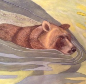 Diana Arcadipone - Swimming Bear