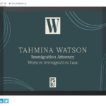 tahmina watson women of influence