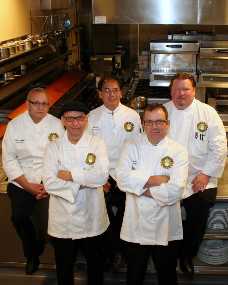 Culinary Academy Faculty with Chef Gebauer