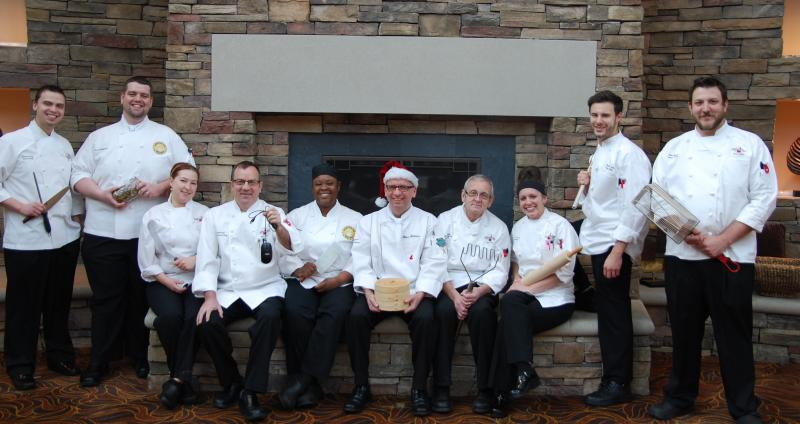 2014 Chef Peter Gebauer Culinary Team Potawatomi