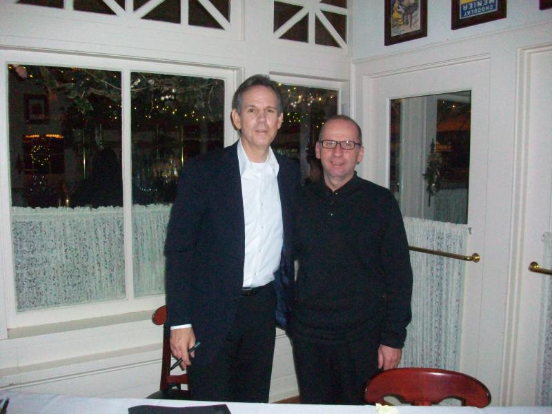 Chef Thomas Keller and Peter Gebauer Milwaukee