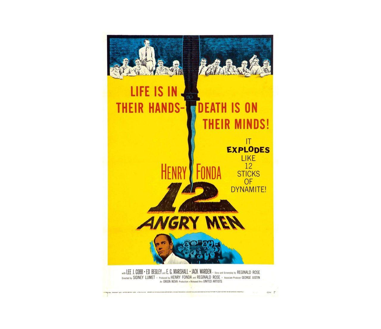 《十二怒漢》 12 Angry Men (1957)