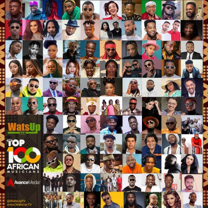 The 2021 Top 100 African Musicians